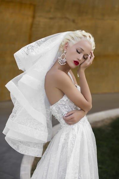 Свадебные платья в стиле старого Голливуда