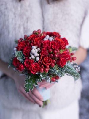 Выбираем зимний букет невесты - советы флориста