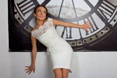 Свадебное платье «Футляр»