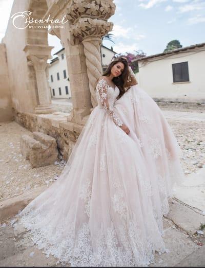 Длинные свадебные платья – классика всегда в моде