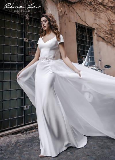 Несколько советов по выбору свадебного платья для высоких невест