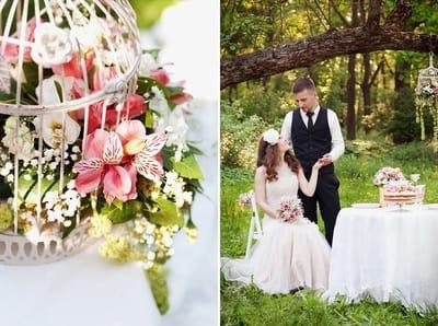 Стили свадьбы: романтика летнего сада