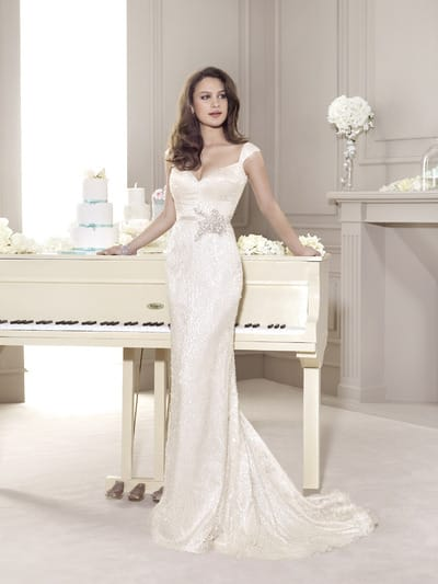 Вечернее платье невесты