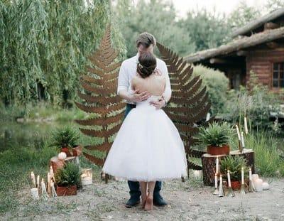 Весілля в стилі еко: декор майбутнього