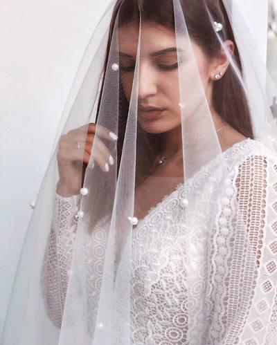 Фата невесты: зачем?, когда?, какая?