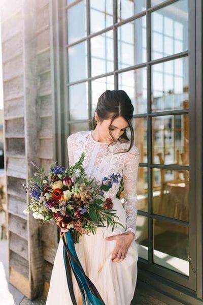 Осенний образ невесты