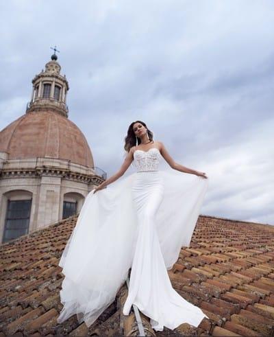 Почему поиск идеального свадебного платья всегда начинается с силуэта