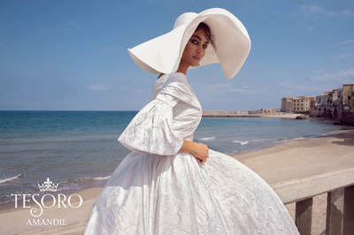 """Свадебные платья в стиле винтаж от салона """"Гранд Ажур"""""""