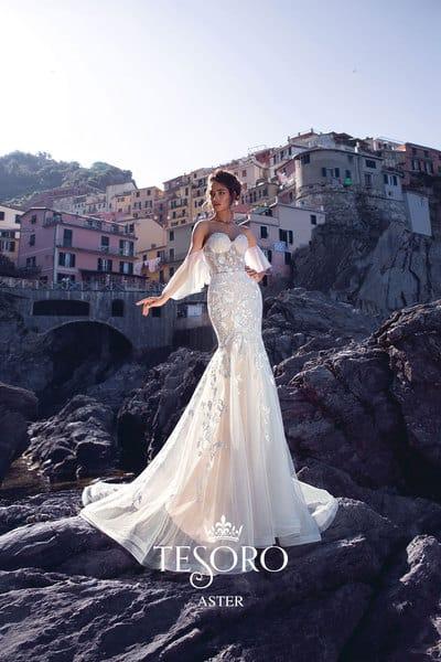 Модное свадебное платье, только из Гранд Ажура