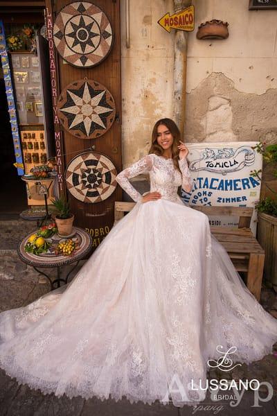Закрита весільна сукня: поради щодо вибору.
