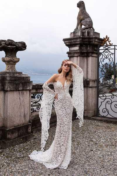 Роскошь кружева: секреты выбора ажурного свадебного платья