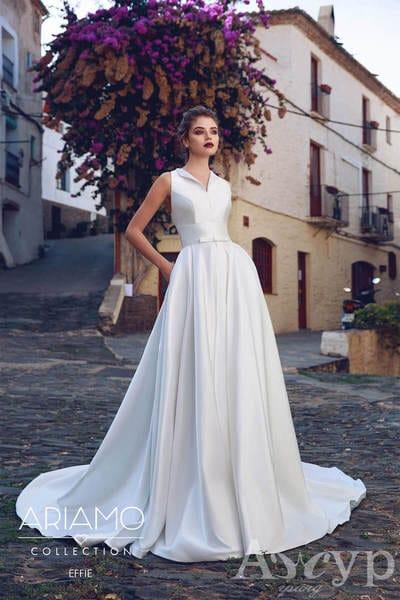 Простые свадебные платья с изюминкой