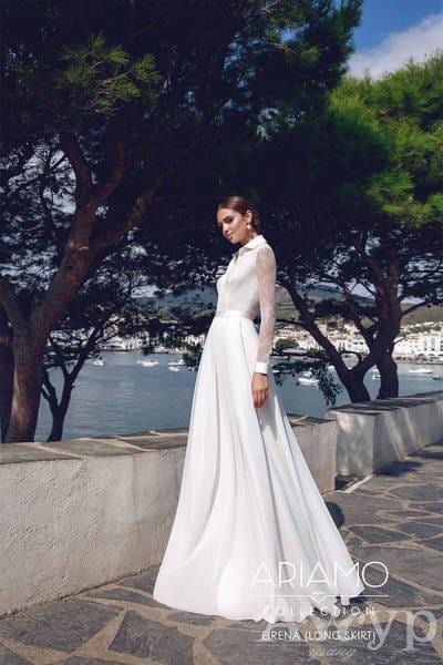 Свадебные платья с длинными рукавами - назад в будущее
