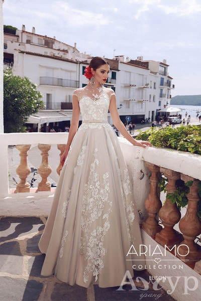18 свадебных платьев с аппликацией и вышивкой от салона Гранд Ажур