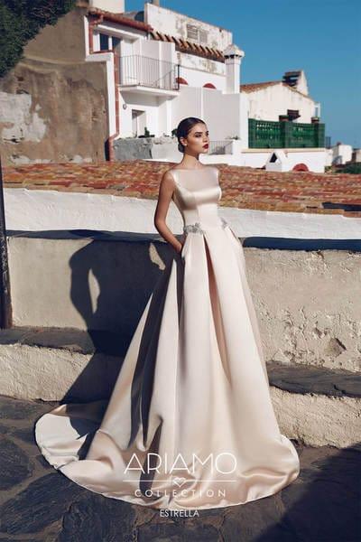 Классические элегантные свадебные платья от салона Гранд Ажур