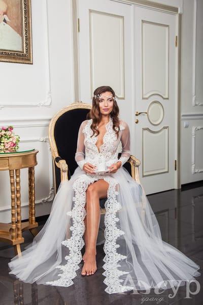 Подборка самых прекрасных будуарных платьев для утра невесты