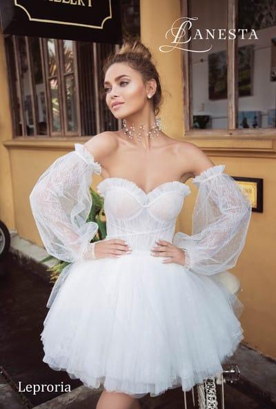 Короткое свадебное платье для вашей церемонии
