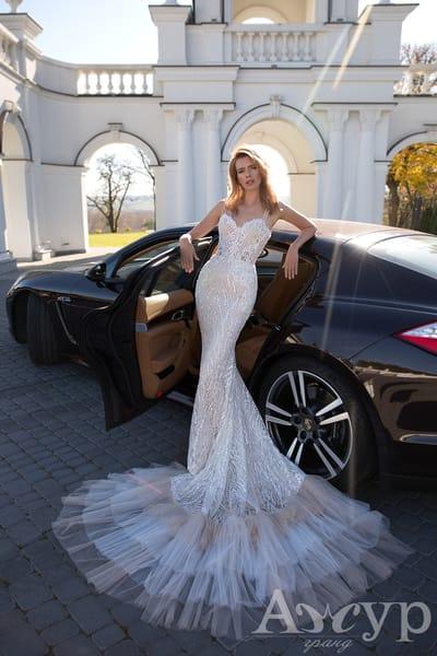 Свадебное платье-рыбка: кому идет необычный фасон