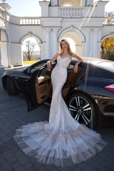 Шлейфы свадебных платьев
