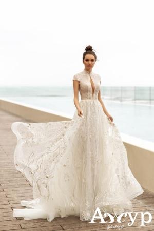 Пишна весільні сукня А-силует, в чому різниця