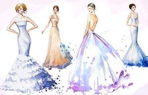Какие бывают свадебные платья