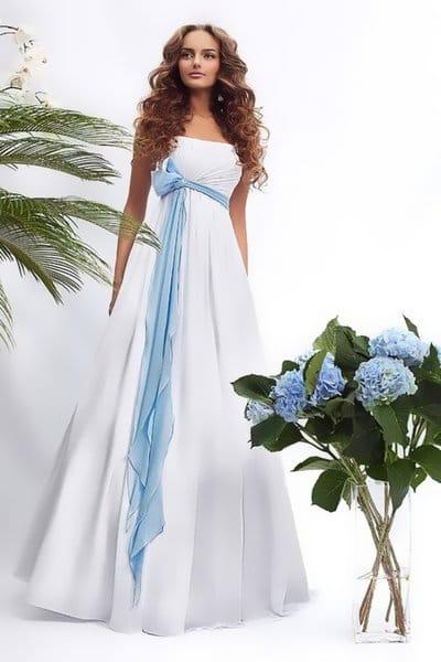 Синий и голубой в оформлении свадьбы