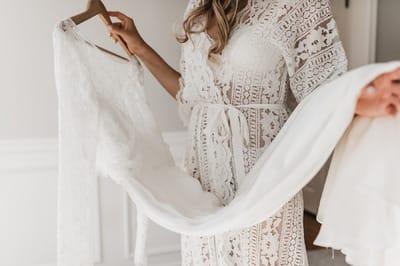 Как не разочароваться в свадебном платье?