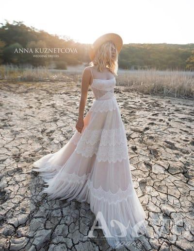 Свадебные платья на бретельках