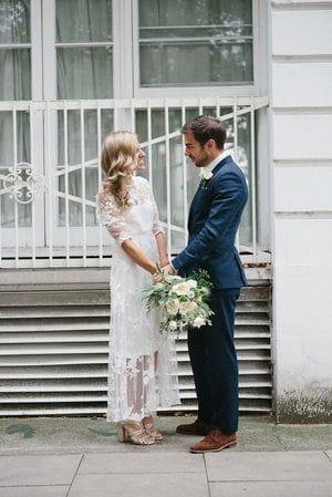 Выбираем идеальное свадебное платье Casual