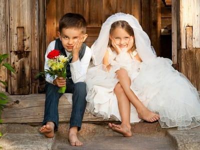 Чем занять детей на свадьбе?