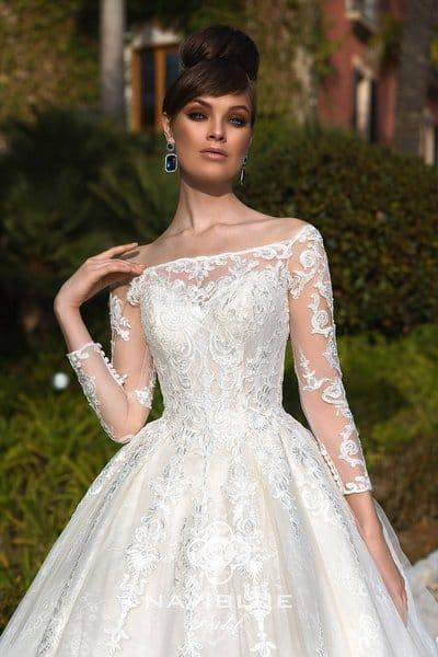 Почему вы полюбите свадебные платья с рукавами от салона Гранд Ажур?
