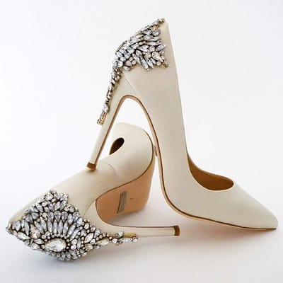 """Свадебная обувь Badgley Mischka в """"Гранд Ажуре"""""""