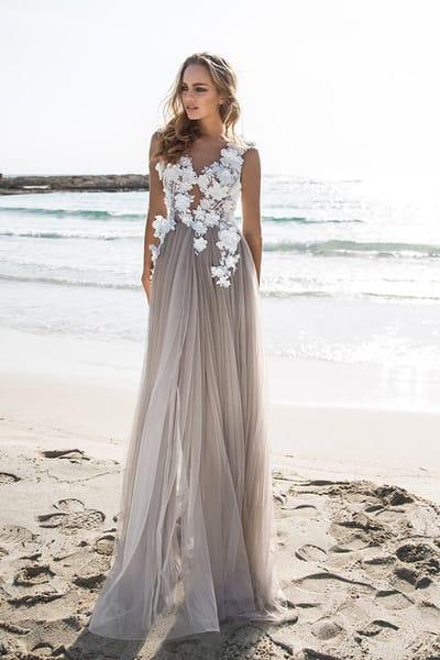 Свадебные платья для свадьбы на Море от салона Гранд Ажур