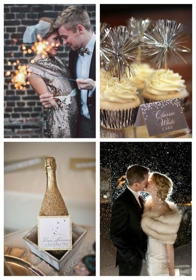 Идеи для новогодней свадьбы