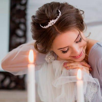 Гламурная невеста - как создать образ