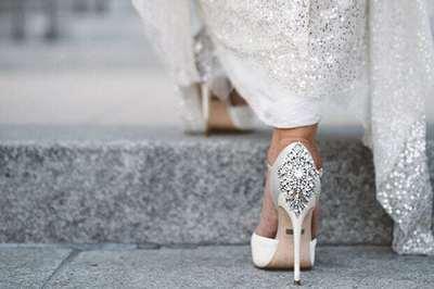 Свадебные туфли - шпильки  или плоская подошва?