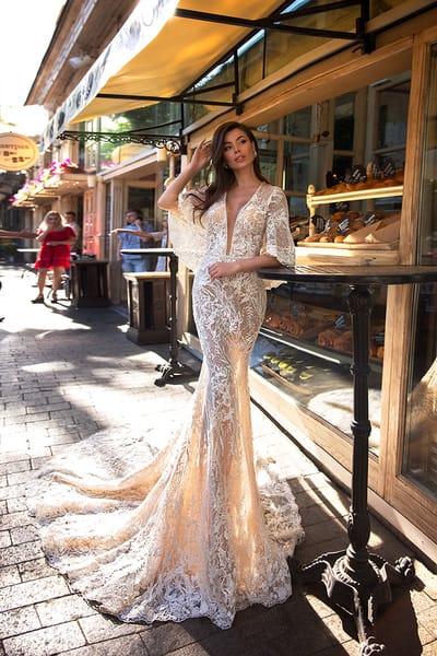 Прозрачные свадебные платья
