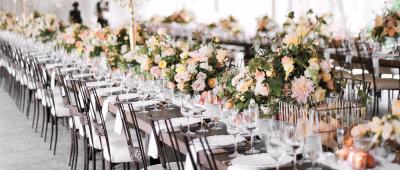 КОМБО: як поєднувати кольори весілля