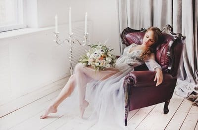 Будуарний наряд нареченої: як підібрати?