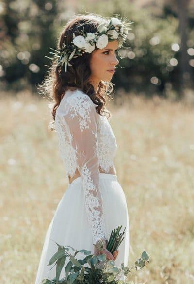 Как сделать свадебный венок собственными руками?