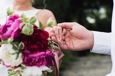 Модные свадебные букеты
