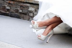 36 идей свадебной обуви для любого типа невесты