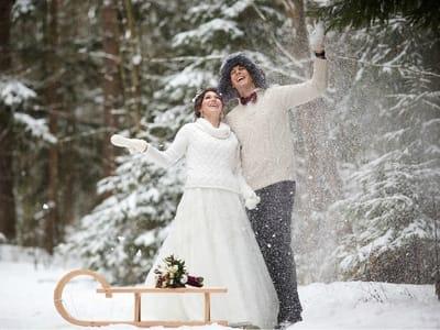 Зимняя свадьба: советы профессионалов