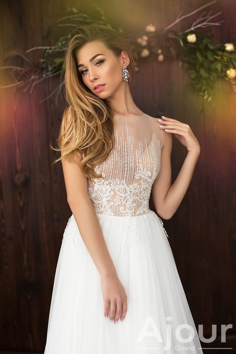 Свадебное платье Gracefull Lily 08054
