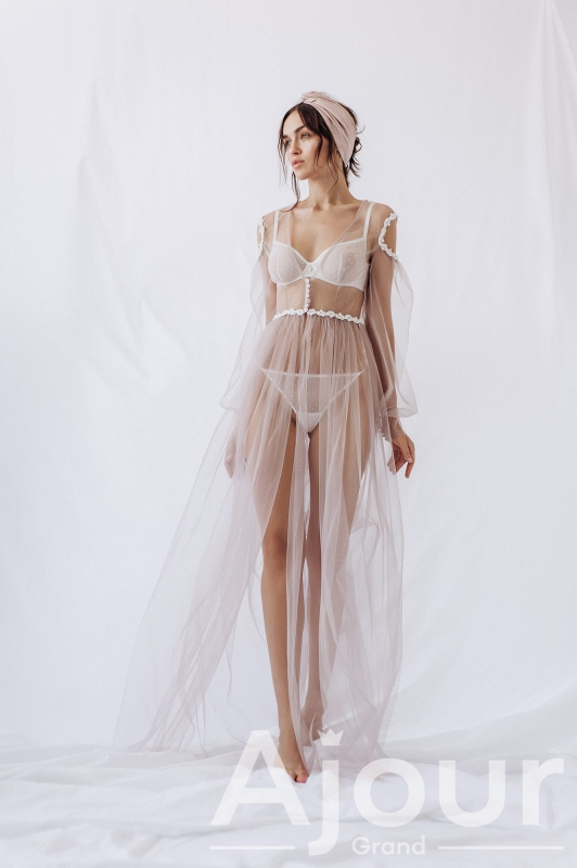Будуарное платье F-412